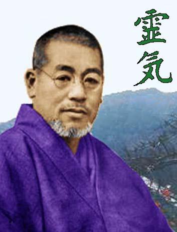 Mikao Usui et symbole reiki